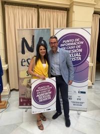 Ayuntamiento de Málaga, Diputación e IAM lanzan la campaña 'NO es No. Solo SÍ es SÍ' contra las agresiones sexuales en la Feria