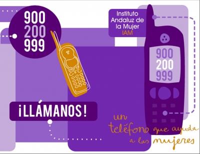 Aumenta un año más el número de consultas por violencia de género del Teléfono de Información a la Mujer del IAM