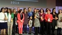 Susana Díaz entrega los Premios Meridiana 2016 en reconocimiento a la defensa de la igualdad de género