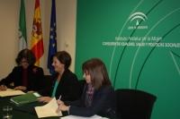 convenio Consejo Audiovisuald e Andalucía e Instituto Andaluz de la Mujer