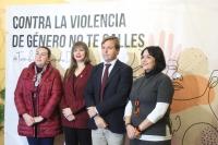 El IAM lanza en Córdoba la campaña 'No te calles' para sensibilizar contra la violencia machista con representaciones en la vía pública