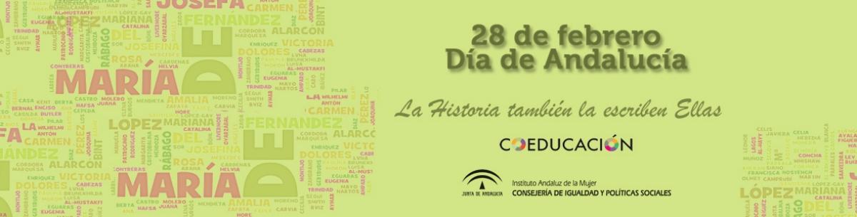 La Historia también la escribe Ellas. Día de Andalucía