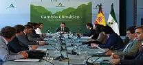 Moreno preside la constitución de la Comisión Interdepartamental por el Cambio Climático