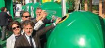El consejero de Medio Ambiente subraya la importancia del reciclaje en la lucha contra el cambio cli...</p>