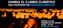 Medio Ambiente participa en 'La Hora del Planeta' para concienciar a la sociedad sobre el cambio cli...</p>