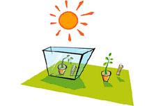 Recreando el efecto invernadero
