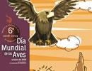 Cartel del concurso del Día Mundial de las Aves.