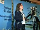 La consejera de Medio Ambiente, Cinta Castillo, acude al acto.