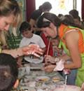 Taller de actividades para escolares en la Semana del Geoparque Sierras Subbéticas.