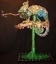 1º Premio el VI Certamen Reciclar Arte. Camaleón I. Sergio Montero Rubio (Málaga)