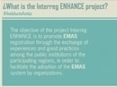 What is the Interreg ENHANCE Project?