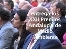 Vídeo resumen de la entrega de los XXII Premios Andalucía de Medio Ambiente