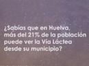 Vía láctea desde Huelva