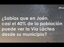 Vía láctea desde Jaén