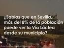 Vía láctea desde Sevilla