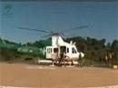 Prácticas de embarque y desembarque con helicóptero de Brica