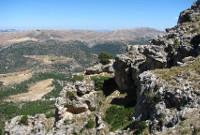 Vista del valle desde una montaña