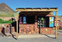 Punto de información en el parque natural Cabo de Gata