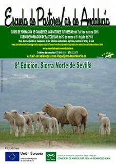 Tríptico VIII Edición de la Escuela de Pastores