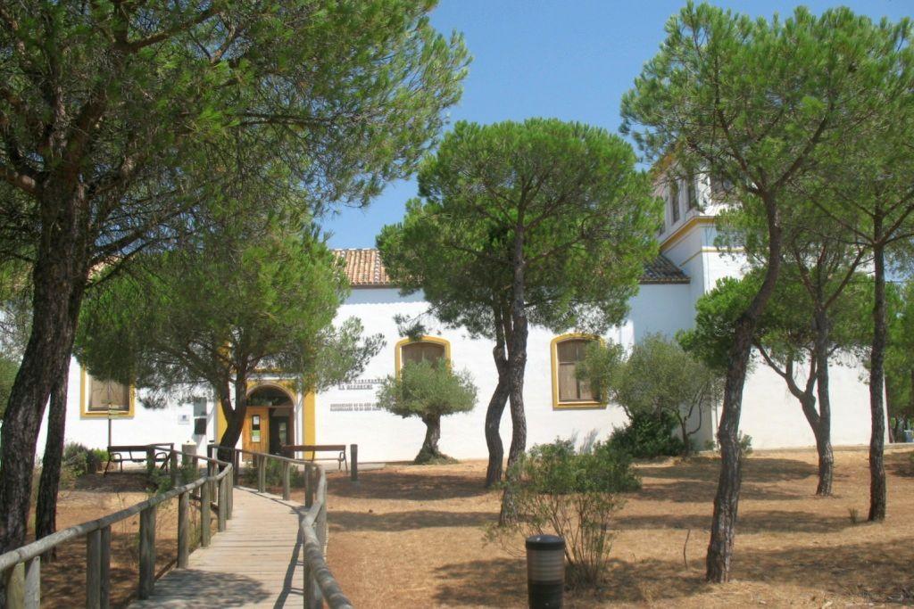 Entrada al Centro de Visitantes El Acebuche