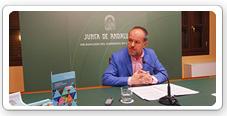 El delegado de Medio Ambiente y Ordenación del Territorio, Francisco de Paula Algar