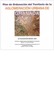 Imagen ilustrativa portada del lan de Ordenación del Territorio de la Aglomeración Urbana de Granada