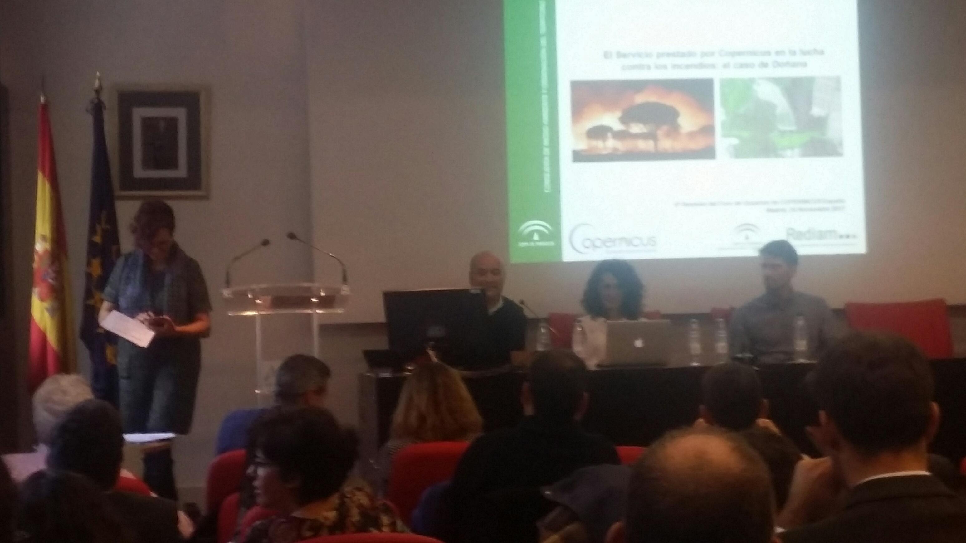 6ª Reunión del foro de usuarios COPERNICUS España