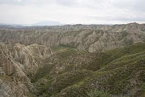 Vista desde el vértice geodésico Loma de los Pinos. Primavera
