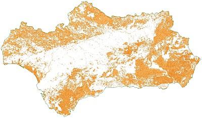 Ver Distribución de Hábitats de Interés Comunitario en Andalucía