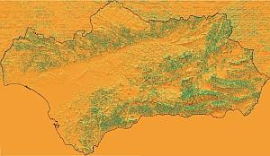 Modelo de radiación solar en Andalucía