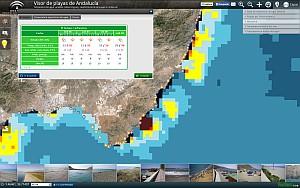 """Acceso al Visualizador """"Playas de Andalucía"""""""