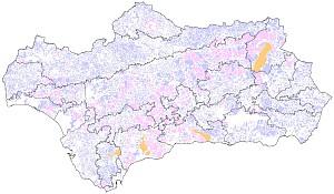 Terrenos cinegéticos de Andalucía 2012-13