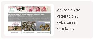 Aplicación Vegetación y coberturas vegetales