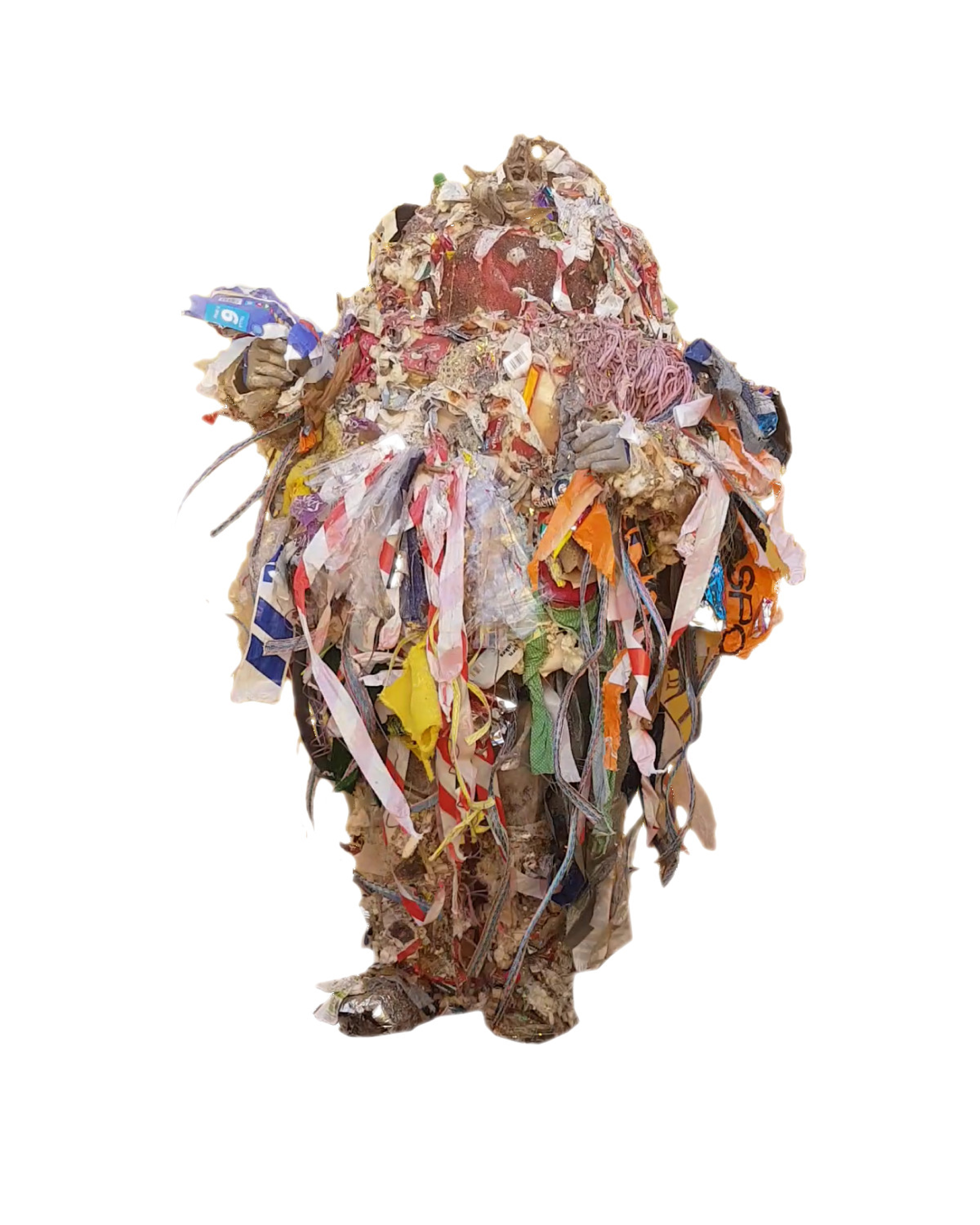 El hombre de basura