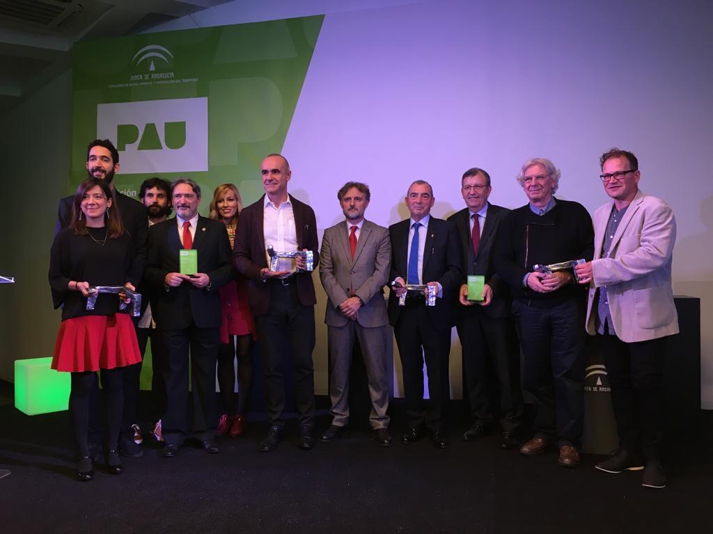 Entrega de los Premios Andalucía de Urbanismo 2018