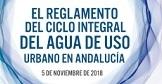 Reglamento del ciclo integral del agua de uso urbano en Andalucía. Conclusiones
