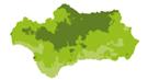 WMS Evapotranspiración potencial mensual en Andalucía (serie provisional) (V2011). Año 2017