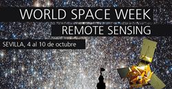 Cartel Semana Mundial del Espacio