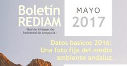 Boletín REDIAM. Mayo 2017
