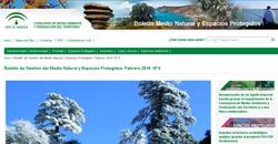 Boletín de Gestión del Medio Natural y Espacios Protegidos