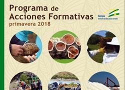 Plan Andaluz de Formación Ambiental: marzo - junio 2018