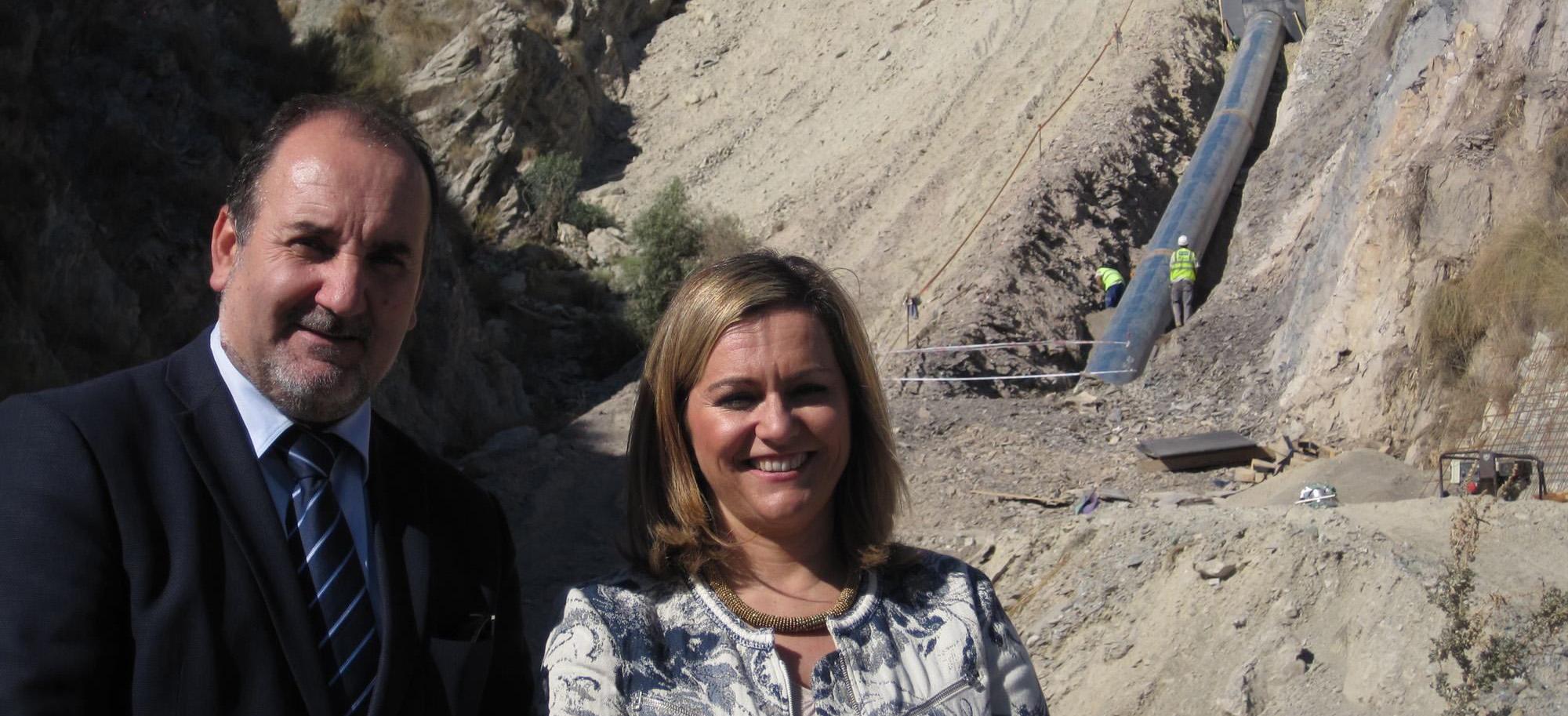 La comarca del Almanzora recibirá el próximo año 50 hectómetros cúbicos de agua del trasvase del Negratín
