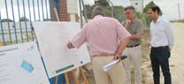 La Junta inicia la construcción de un depósito para mejorar el abastecimiento de agua a Sanlúcar, Chipiona y Rota