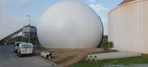 La Junta realiza las pruebas para la puesta en marcha de un gasómetro en la planta depuradora de El Bobar, en Almería