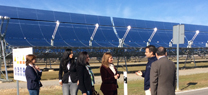 Serrano apuesta por el uso de las energías renovables para generar empleo en Andalucía