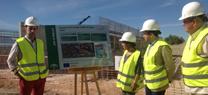 La inversión en las obras de la nueva depuradora de aguas residuales de Úbeda alcanza ya casi 2 millones de euros