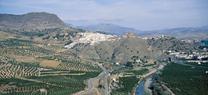 Medio Ambiente prevé soterrar el primer tramo del canal de la central hidroeléctrica de Paredones en Álora
