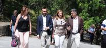 Serrano anuncia la conversión del poblado de Los Hurones en un complejo de turismo rural que genere riqueza en la zona