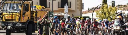 La Junta realiza un despliegue especial de medios del Plan Infoca con motivo de la Vuelta Ciclista a España