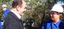 La Junta mejora el monte público El Conde, de Bacares, para prevenir incendios forestales